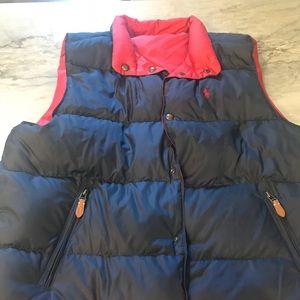 Polo (Ralph Lauren) Men's reversible down vest